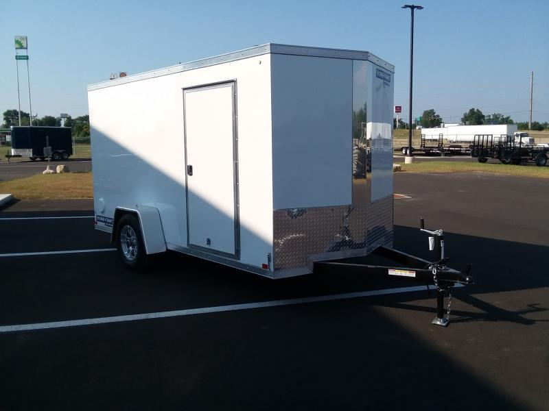 2019 Sure-trac 6'x12' Enclosed White Tor 3k
