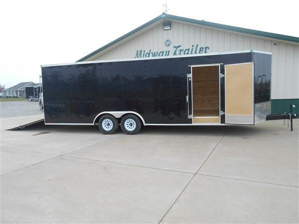 Interstate 8X24 V-Nose Enclosed Cargo Trailers