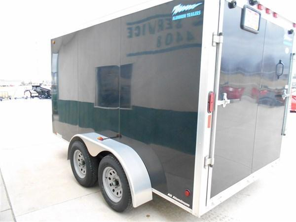 Used Legend 7X12 All Aluminum Enclosed Cargo Trailer