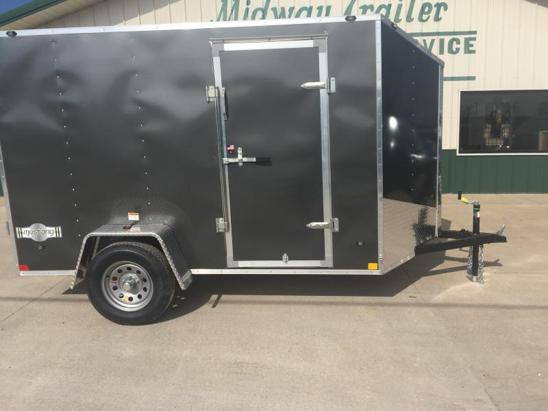 2019 Stealth 6 X 10 Charcoal Enclosed 3k