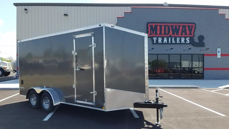 "2018 Stealth 7' X 16' Enclosed +6"" Hgt - Char"