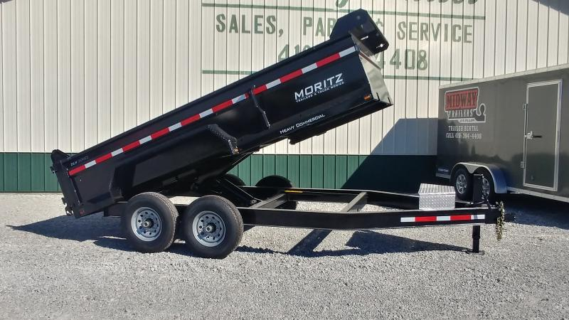 2019 Moritz 7x14 14k Dump Do Not Sell No Cord