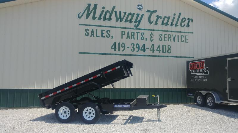 2018 Sure Trac 5' X 10' 7k Dump Single Ram