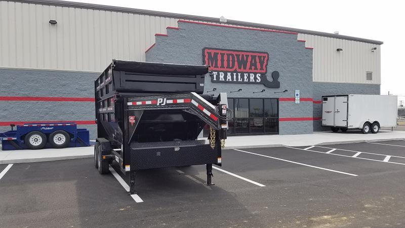 "2018 Pj Trailers 83""'x14' Gn Roll Off 14k"