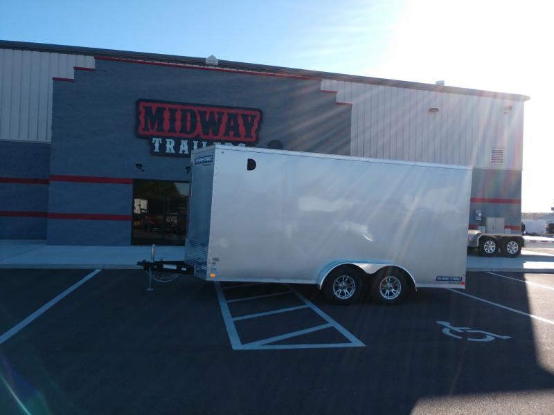"""2019 Sure-trac 7' X 16' Enclosed 10k +6"""" Height"""
