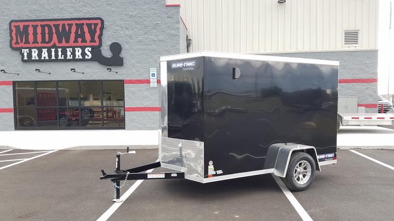 2019 Sure-trac 6'x12' Black 3k Pro Series