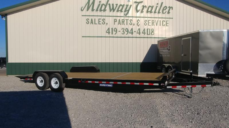 2018 Sure-trac 7'x18'+6' Tilt Equipment 14k