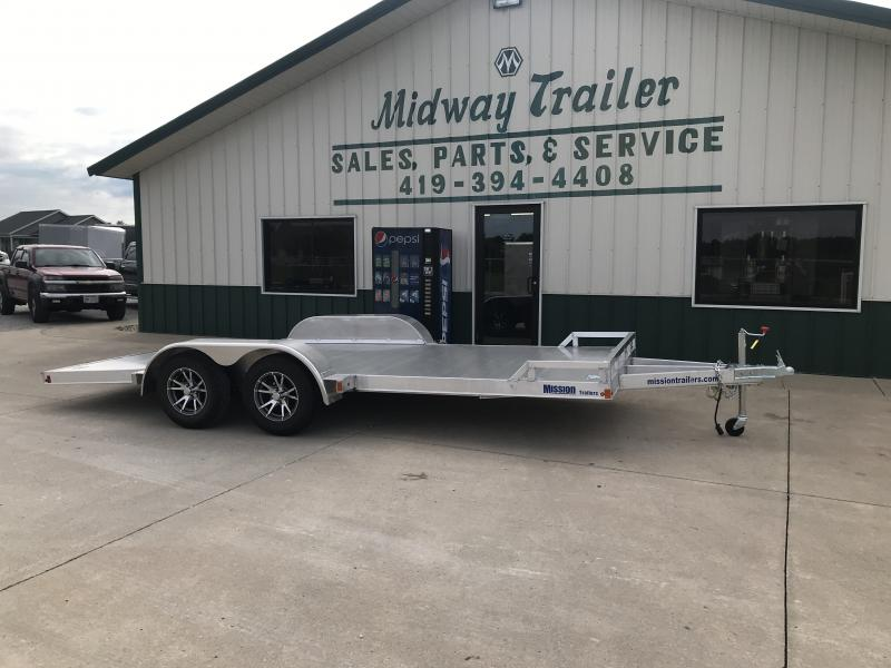 "2019 Mission 80"" X 18' Car Hauler"