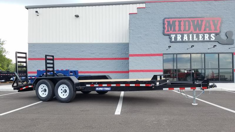 2019 Sure-trac 7' X 18' Implement Trailer 14k