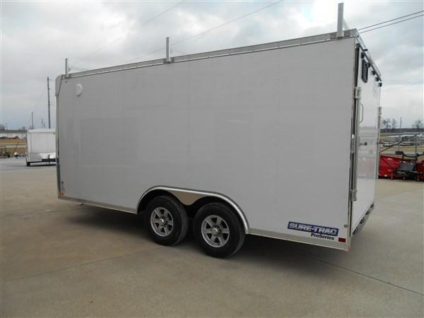 Sure-Trac 8.5X16 Pro Series Contractor Enclosed Cargo Trailer