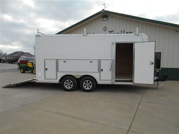 Sure-Trac 8.5X16 Pro Series Contractor Enclosed Cargo Trailer
