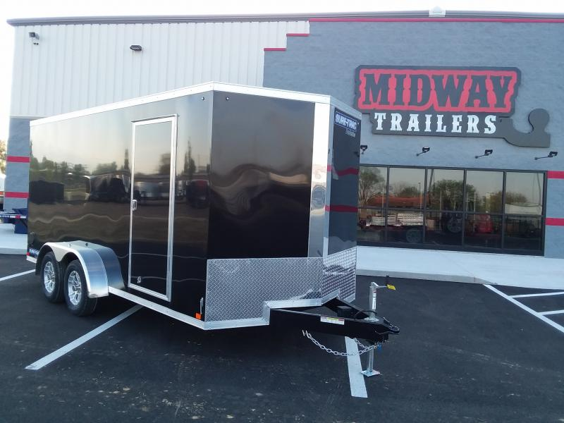 2018 Sure-trac 7'x16' Enclosed 7k