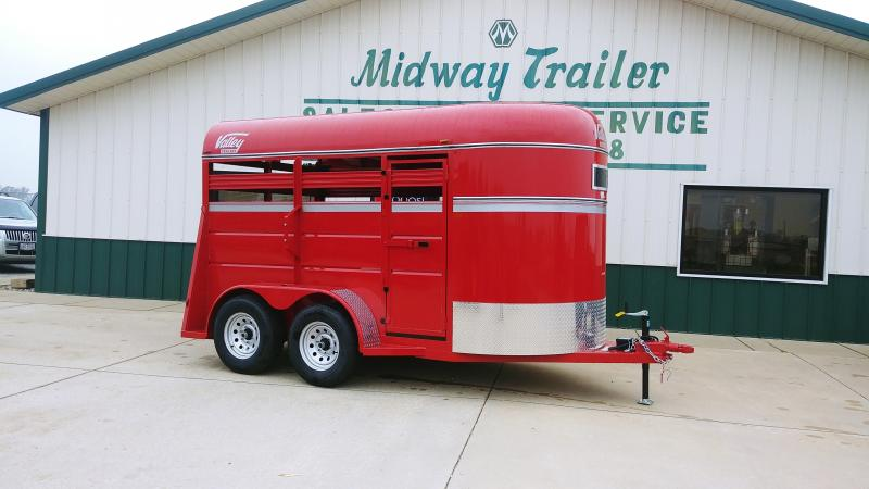 2018 Valley 12' Livestock Trailer