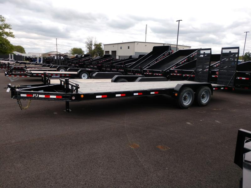 2018 Pj Trailers 7'x22' Equipment 16k