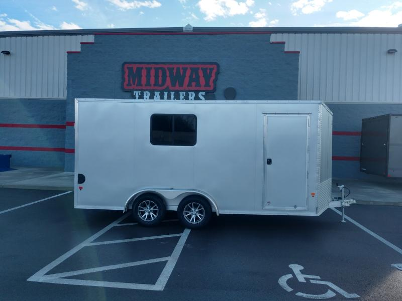 2019 Ez Hauler 7.5'x16' Alum Enclosed 7k
