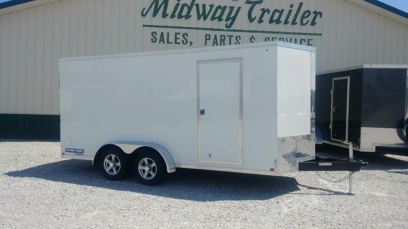 2018 Sure-trac 7x16 Enclosed White