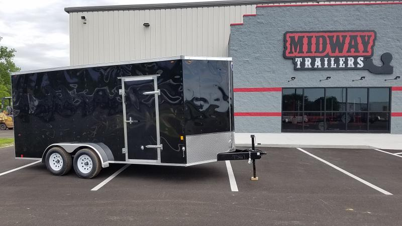 2020 Interstate 7x16 Black 7k Tandem