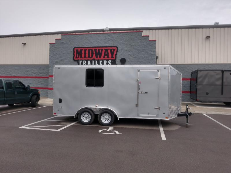 "2019 Stealth 7'x16' +6"" Height Enclosed"