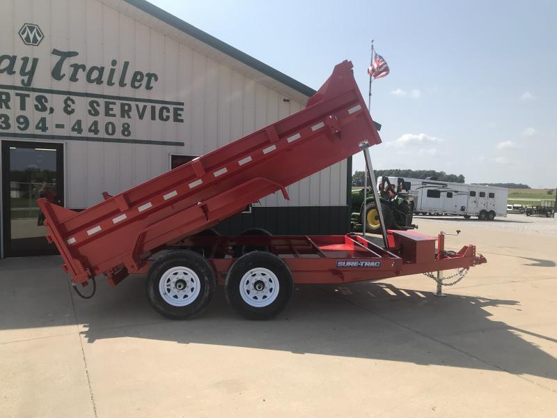 2018 Sure-trac 7 X 12 Tele Dump-red
