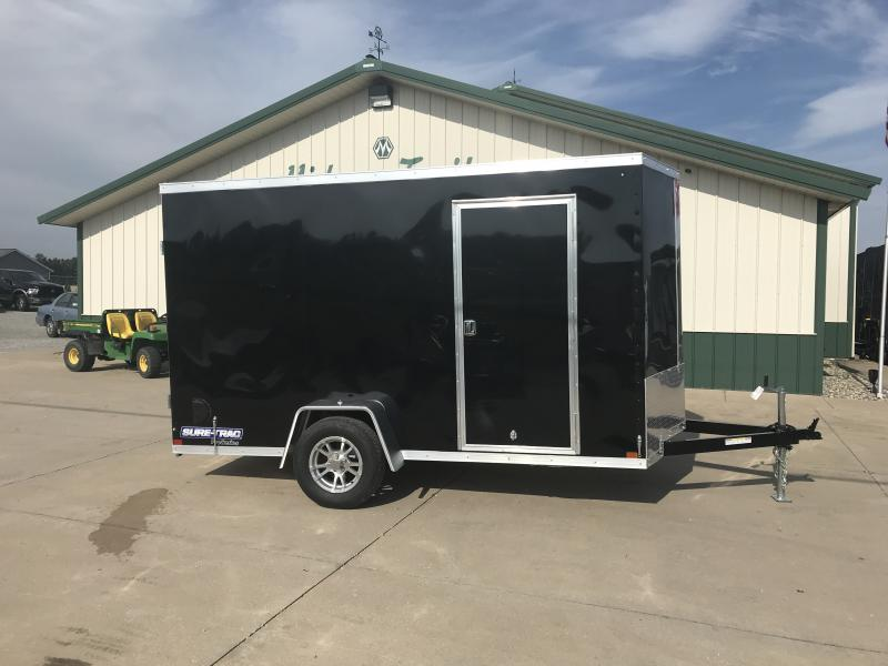 2019 Sure-trac 6x12 Psw 3k Black Barn Door