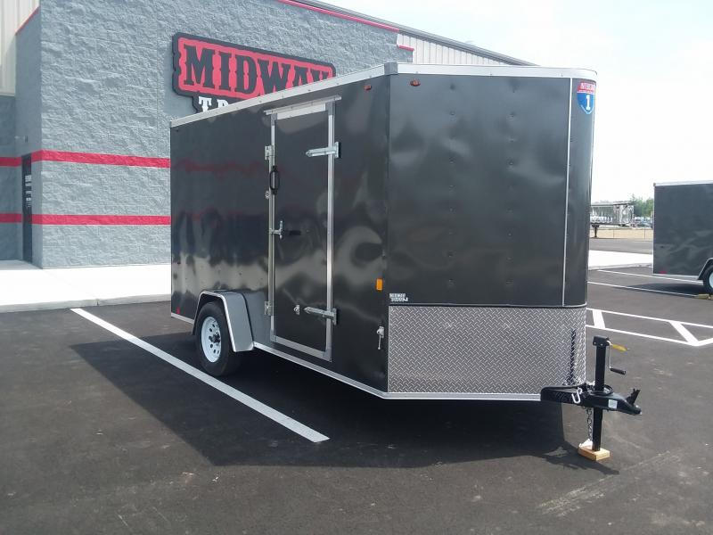 2020 Interstate 7' X 12' Enclosed Charcoal