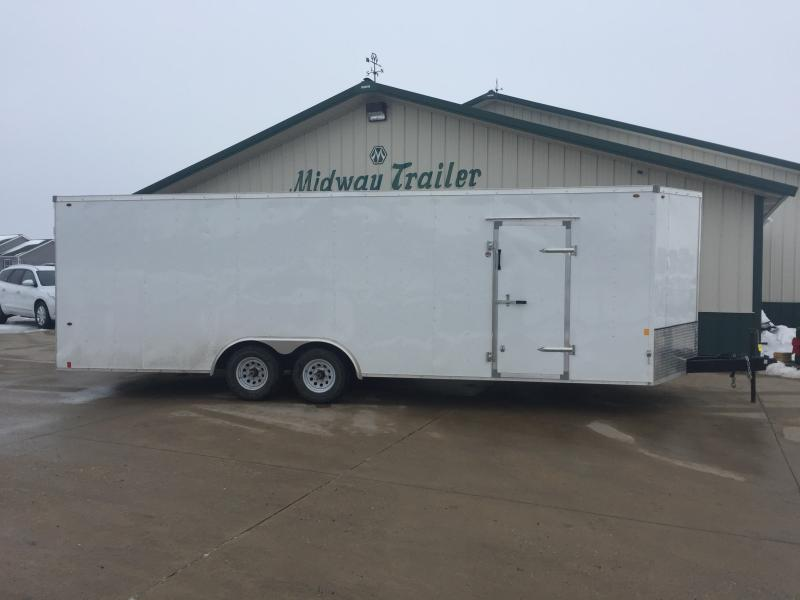 2018 Interstate 8.5x24 Enclosed 10k