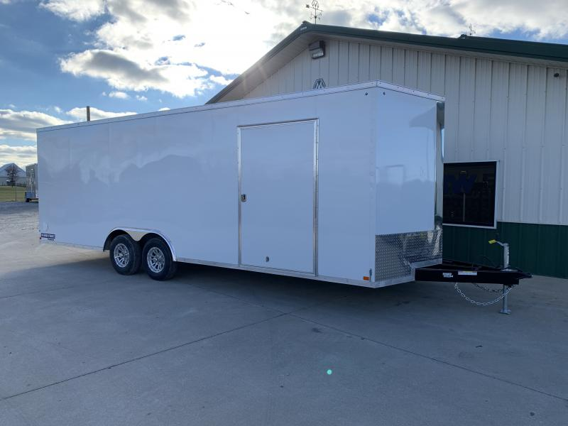"2019 Sure-trac 8.5x24 Psw Ch 10k White +6"" Extra Height"