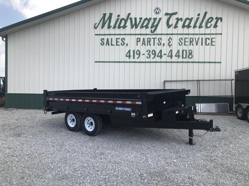 2019 Sure-trac 8 X 14 Deck Over Dump 14k