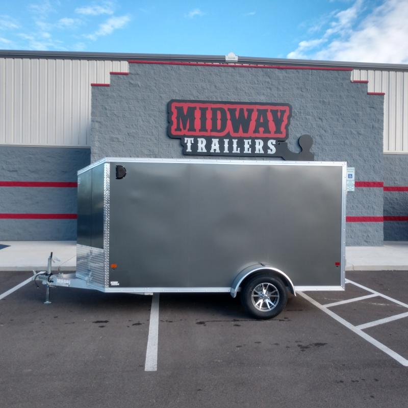 2019 Ez Hauler 6'x12' Alum Enclosed 3k