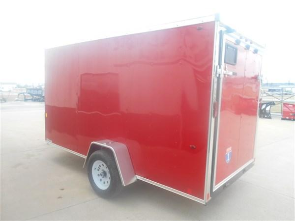 Interstate 6X12 V-Nose Enclosed Cargo Trailer