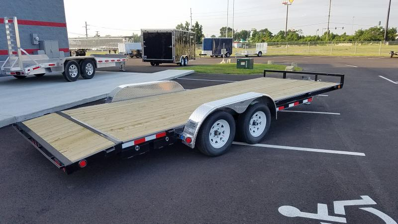 2020 Pj Trailers 7'x20' Wood Deck 7k