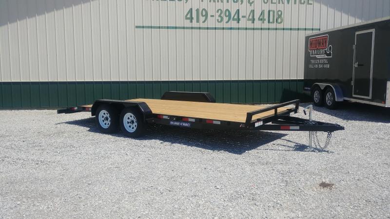 2019 Sure-trac 7x16 Wood Deck Ch 7k