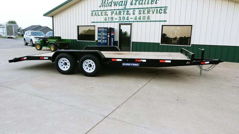 2018 Sure-trac 7x20 10k Car Hauler