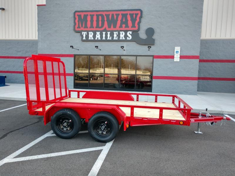2019 Pj 7x12 Ready Rail 7k Red