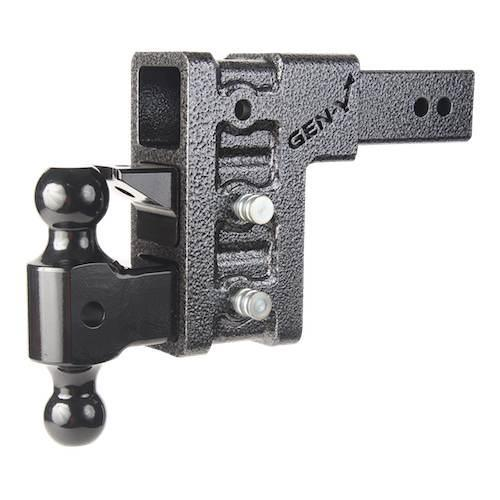 2.5 Inch Class V 32K 6 Inch Drop Hitch; Versa Ball and Pintle Mega Duty