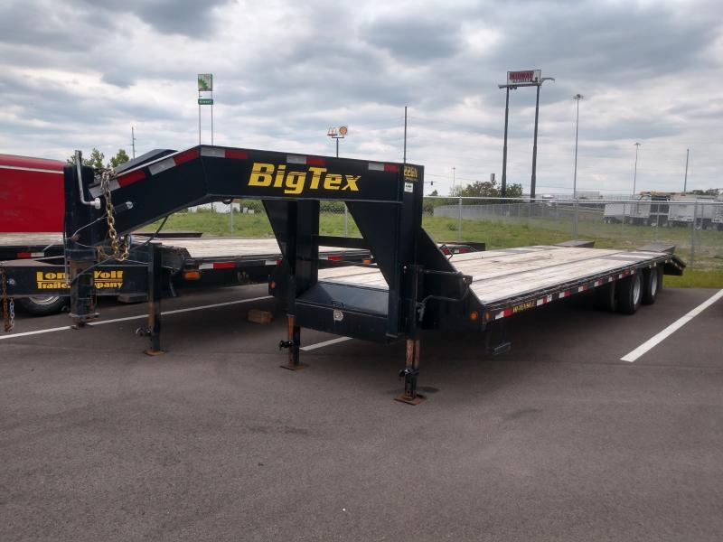 2013 Big Tex 8.5'x25'+5' Gn Deckover 22.5k