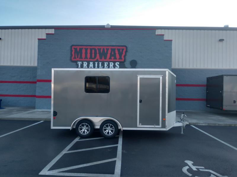 2019 Ez Hauler 7.5'x14' Alum Enclosed 7k