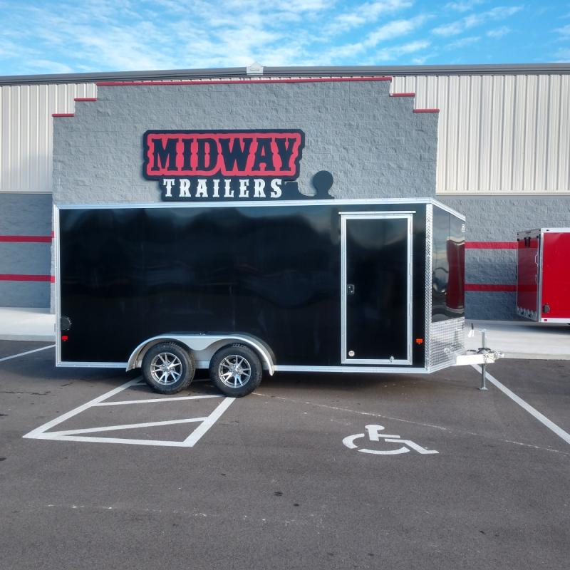 2019 Ez Hauler 7'x16' Alum Enclosed 7k