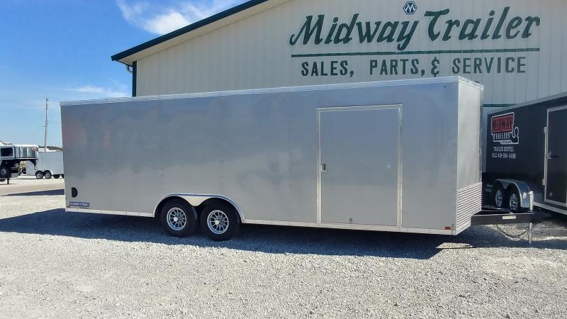 2019 Sure-trac 8.5 X 24 Enclosed Silver 10k