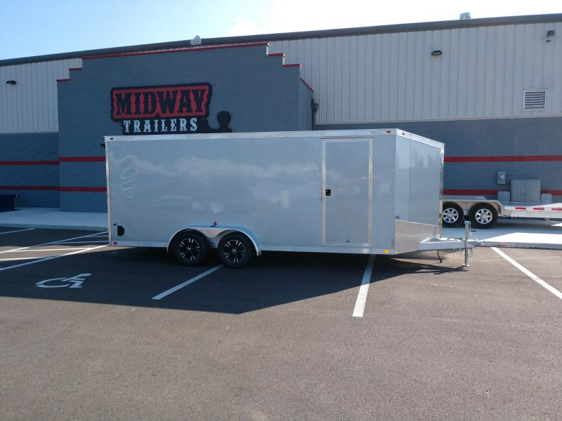 2018 One Trailers 7'x18' Alum. Silver 7k
