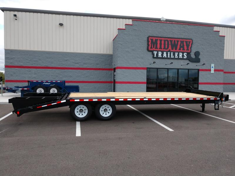 2019 Sure Trac 8.5x20 +4 Beavertail Deckover 15k