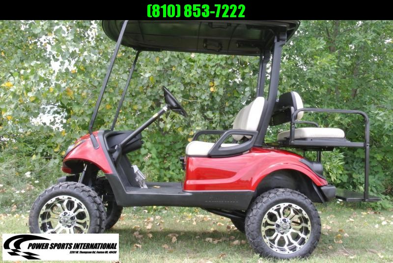 2013 Yamaha Drive GAS Golf Cart w/ Extras Low Hours Runs Strong!  #5715