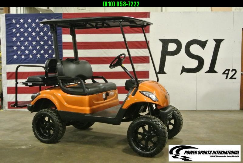 2011 Custom Yamaha Drive GAS POWERED Golf Cart #4144