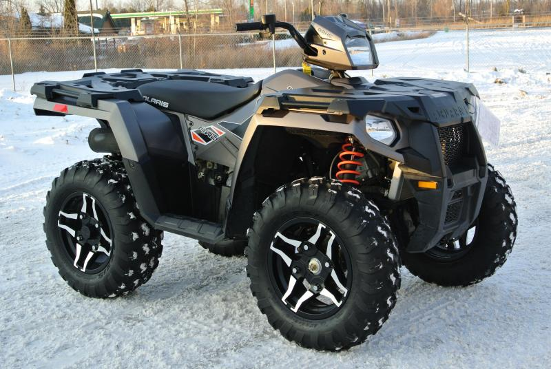 2015 POLARIS SPORTSMAN 570 SP SILVER #2210