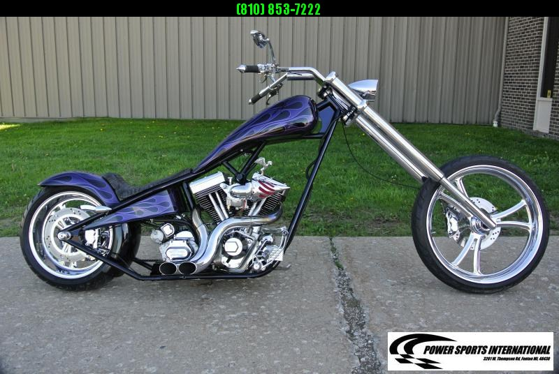 Voodoo Custom Chopper 100 CI Delkron V-Twin Motorcycle