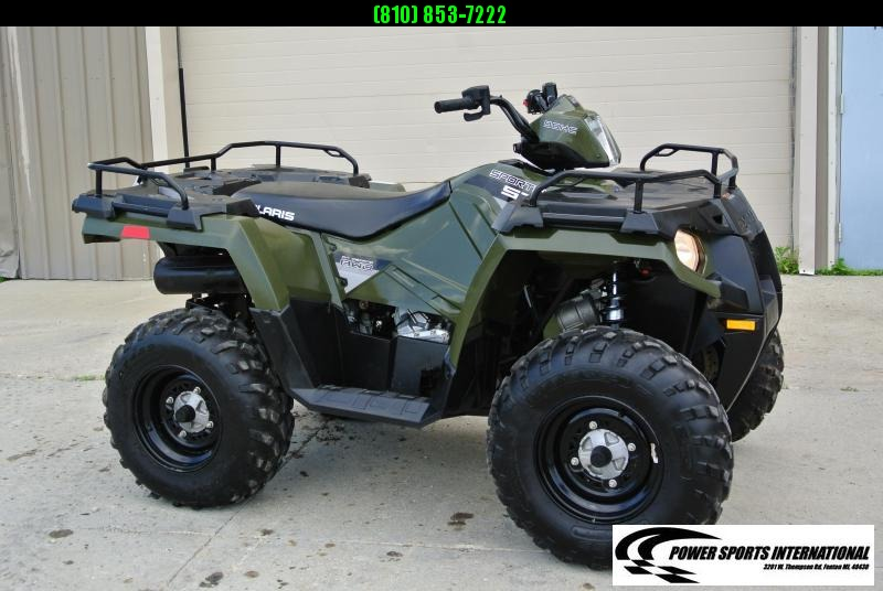 2014 POLARIS SPORTSMAN 570 EFI EPS HUNTER GREEN 4X4 ATV #6344
