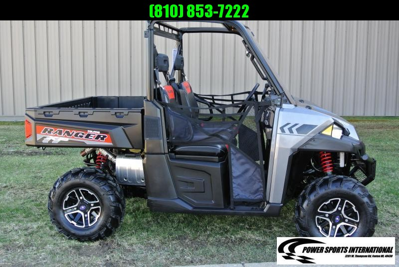 2015 POLARIS RANGER XP 900 EPS METALLIC SILVER FULL SIZE #4388