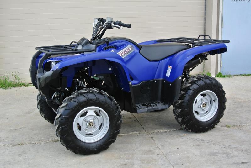 2013 YAMAHA YFM7FGPDL GRIZZLY BLUE EPS 4WD 4X4 #1177