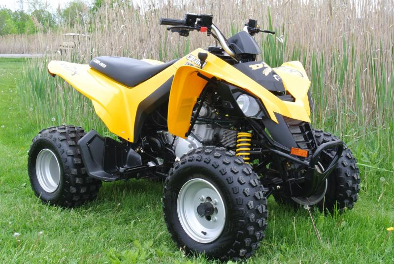 2008 Can Am DS250 Automatic Sport ATV #7870