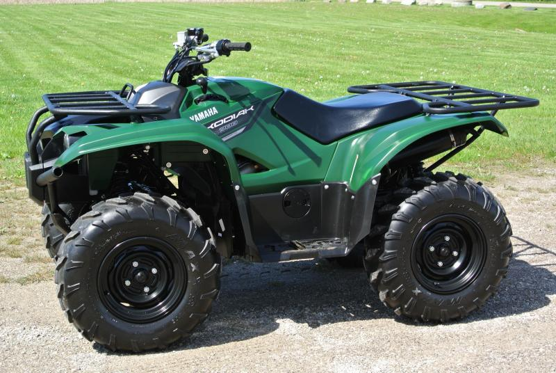 2018 YAMAHA YFM70KDXJG KODIAK 700 4WD (HUNTER GREEN) #0119